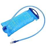 Sacca idratazione portatile, TXJ 2L Sacca acqua con apertura larga anti perdita & tubo Isolato per escursionismo, campeggio,bicicletta e arrampicata