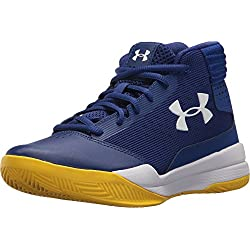 Under Armour UA BGS Jet 2017, Zapatos de Baloncesto para Niños, Azul (Formation Blue), 35.5 EU