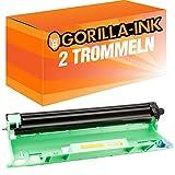Gorilla-Ink® 2 Trommeln XXL kompatibel zu Brother DR-1050 10.000 Seiten