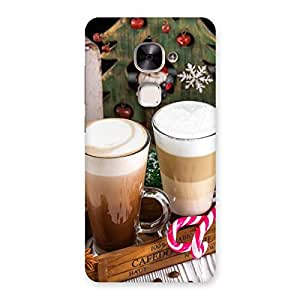 Neo World Festive Coffee Back Case Cover for Le 2