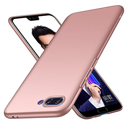 Avalri für Huawei Honor 10 Hülle, Ultradünne Handyhülle Hardcase aus PC Stoß- & Kratzfest Kompatibel mit Huawei Honor 10 (Glattes Rosen-Gold)