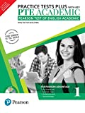 #5: PTE Academic Practice Tests Plus (with key) by Pearson  (Pearson Test of English Academic)