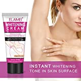 ELAIMEI Natural Whitening Cream, Underarm Lightening Armpit and After Bikini Line Hair Removal