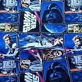 Visage Star Wars Stoffe, 100% Baumwolle, 0,5 m mehrfarbig