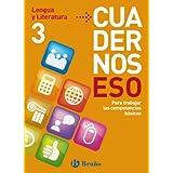 Cuadernos ESO Lengua y Literatura 3 (Castellano - Material Complementario - Cuadernos Eso)