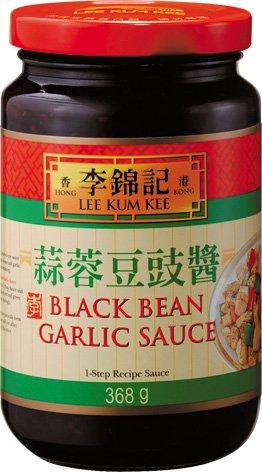 Lee Kum Kee Black Bean Garlic Sauce 368g Glas (schwarze Bohnen-Knoblauch-Sauce)