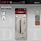 DWT Betonbohrer Ø 4 x 70 mm HM/CT für Bohrmaschine - BS-C4