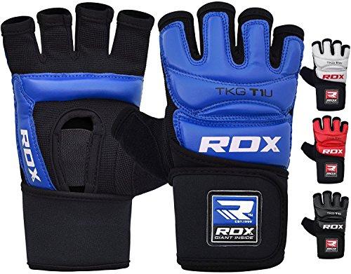 RDX Taekwondo Gants d'entraînement Karaté WTF Art Martiaux Sparring TKD Grappling Protection de Main