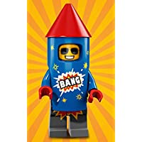 LEGO Series 18 FIREWORK GUY Minifigure (#05/17) - Bagged 71021