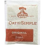 Quaker Oatso Simple Original Porridge, 27 g (Pack of 120)