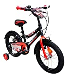 HelloBikes High End 16 inch Kids Boys Bicycle for 4-8 Years with Frame