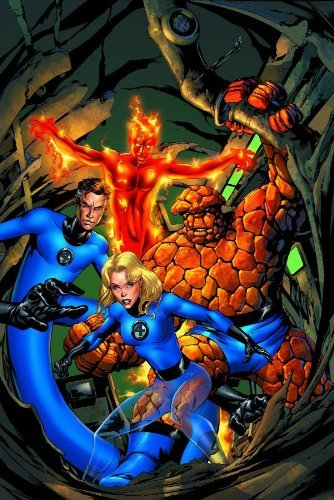Fantastic Four By J. Michael Straczynski Volume 1 TPB: v. 1 (Graphic Novel Pb) by Mike McKone (Artist), Andy Lanning (Artist), J. Michael Straczynski (12-Jul-2006) Paperback