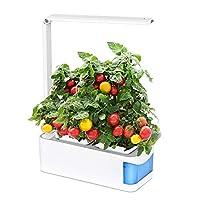 Goditi la vita con YOSTAR Indoor Herb Garden Growing Light!La lampada da giardino a base di erbe YOSTAR rende la piantatura più facile e più divertente! 3 modalità luminosità, 1 controllo pulsanti premere il pulsante per cambiare la modalità luce, 3 ...