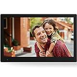 NIX Advance - 17.3 Zoll Widescreen Digitaler Bilderrahmen f�r Fotos und HD-Video (720p) mit Bewegungs-Sensor, f�r SD und USB, schwarz - X17B Bild