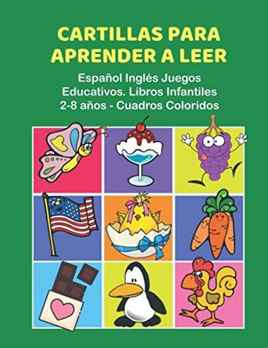 Cartillas Aprender Leer Español Inglés Juegos Educativos