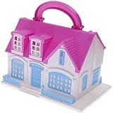 MagiDeal Juegos de Accesorios para Casas de Muñecas Villa para Barbie Plástico