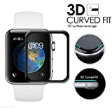 42mm 3D Full Cover Edge To Edge Screen Tempered Glass For Apple IWATCH (Series - 3/2/1)