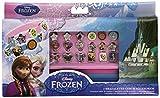 Frozen - Caja para pulseras, 3 brazaletes y 18 accesorios (Kids WD92076)