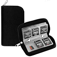 aCrafts SDHC Micro SD Memory Card Storage Carrying Pouch Case Cover Holder Wallet