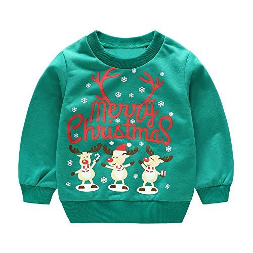 Print Pullover Tops Kleinkind Kinder Baby Boy Langarmshirts ()