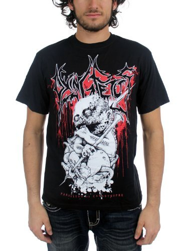 Dying Fetus - Uomo Parasites T-Shirt in Nero, Small, Nero