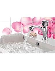 pengweiLavabo simple robinet froid vasque en céramique Lave bassin robinet cartouche céramique