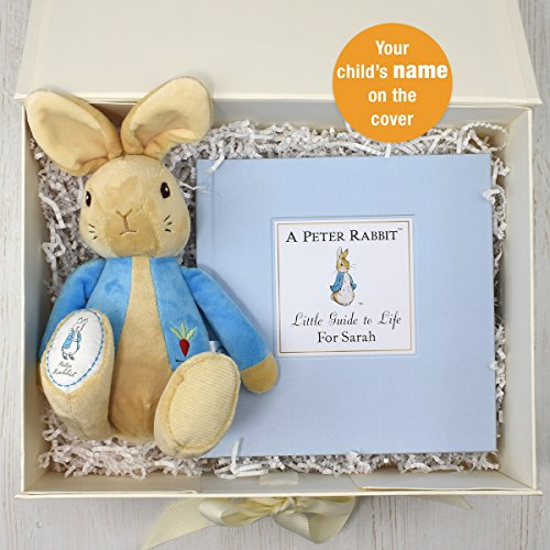 personnalisé Peter Rabbit Guide to Life en peluche Coffret cadeau