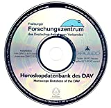 Horoskope-Datenbank des Deutschen Astrologen-Verbandes (erschienen 1997) auf CD