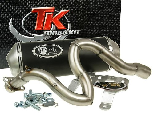 Turbo Kit Gmax 4T Tubo de escape para honda Foresight Fes 250 MF05/MF05, Forza/Nss Jazz 259 MF07, Forza/Nss Jazz 250 X/Ex 2 V MF08