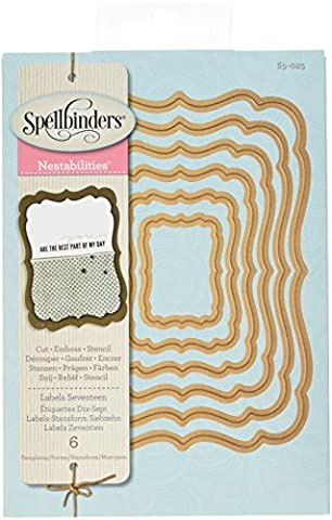 Spellbinders Nestabilities Dies-Labels