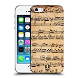 Head Case Designs Mozart Music Sheets Soft Gel Back Case Cover for Apple iPhone 5 5s