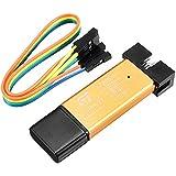 Rishil World 3.3V 5V XTW ST-Link V2 STM8/STM32 Simulator Programmer Downloader Debugger With 20cm Dupont Wire
