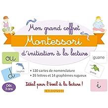 Mon grand coffret Montessori d'initiation à la lecture