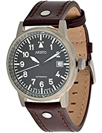Aristo Unisex Reloj Automático (eta2824–2) Titanium Model Observador 5h8410ATM 50g