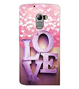 PrintDhaba Love D-4973 Back Case Cover for LENOVO K4 NOTE A7010 (Multi-Coloured)