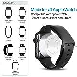 Chargeur pour Apple Watch [Apple Certified],OPSO Câble de charge magnétique pour...