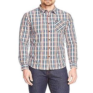 Pepe Jeans Camisa Curtis Naranja de Hombre.