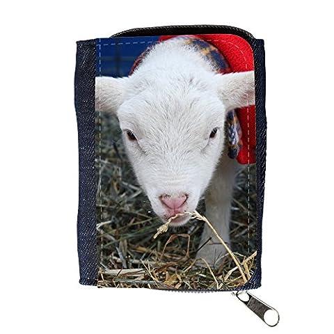 Agneau Purse - Portafoglio Borsellino portafoglio // F00013616 agneau de
