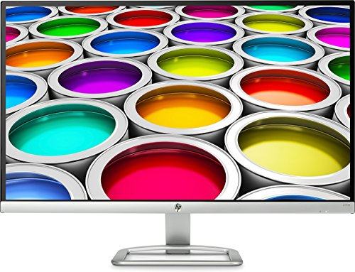 "Foto HP 27ea Monitor, 27"", Full HD 1920x1080, IPS con Retroilluminazione LED, Altoparlanti Integrati, Argento"