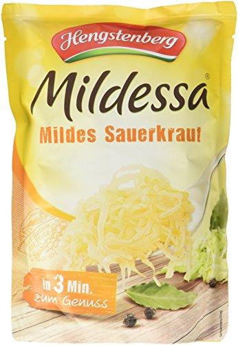 Hengstenberg Mildessa Mildes Sauerkraut, 6er Pack (6 x 400 g)