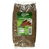 Naturwert Bio Leinsamen ganz, 8er Pack (8 x 500 g)