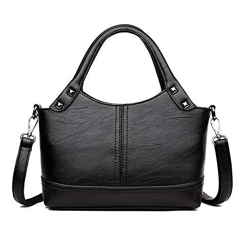 Pu-Handtaschen-Beutel-Frauen-Dame-Art- Und Weiseschulterkurier-Weiche Lederne Beutel-Einfache Atmosphärische Frauen Des Mittleren Alters