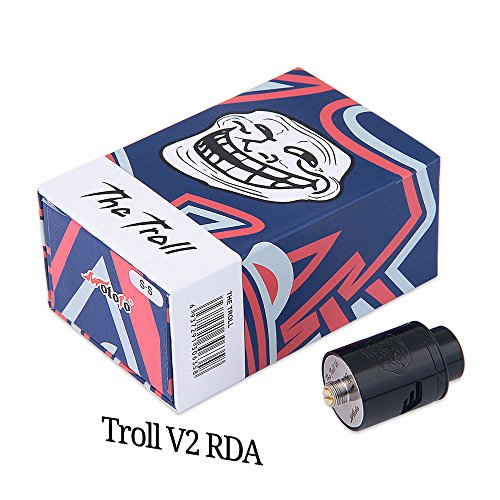 Wotofo The Troll V2 RDA Tröpfler Farbe Schwarz - 5