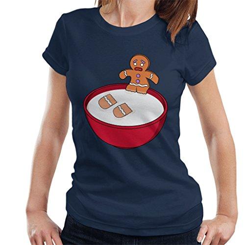 Shrek Gingerbread Man Milk Problems Women's T-Shirt Shrek Gingerbread