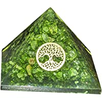 Grün Onyx Orgon (Bouches-du-Rhône) Kristall Pyramide mit Tree of Life Symbol für Chakra Balancing, Energie genrator... preisvergleich bei billige-tabletten.eu