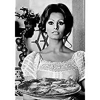 13,78x19,68 inch Mangiaspaghetti Art 14 Tot/ò Toto cm 35x50 Poster Stampa Grafica Cinema Film Affiche Cartel Kunstplakat Papiarte