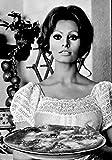 Mangiaspaghetti Art. 35 Sofia Loren cm 35x50 Poster - Best Reviews Guide