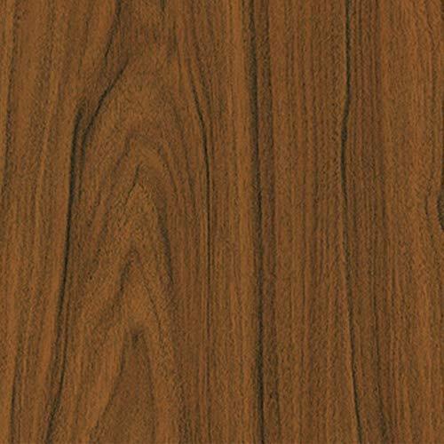 7,08€/m² Tür-folie d-c-fix Holzfolie Nussbaum mittel 210cm x 90cm Ideale Türfolie selbstklebende Klebefolie Folie Holz Dekor Möbelfolie