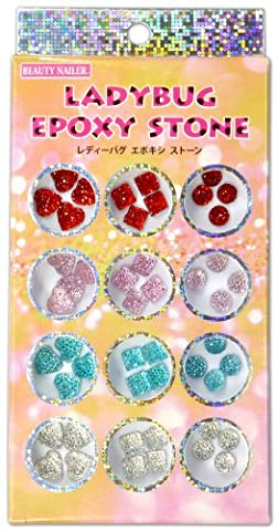 Harajuku Nail Lady Bug Epoxy Stone LES-1