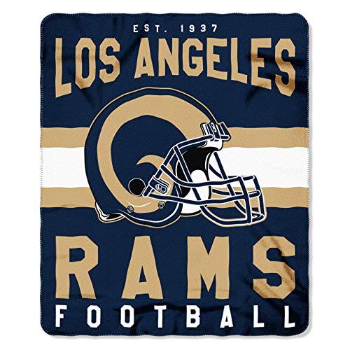 Los Angeles Rams Offizielle NFL Decke, Fleecedecke in 127 x 152 cm